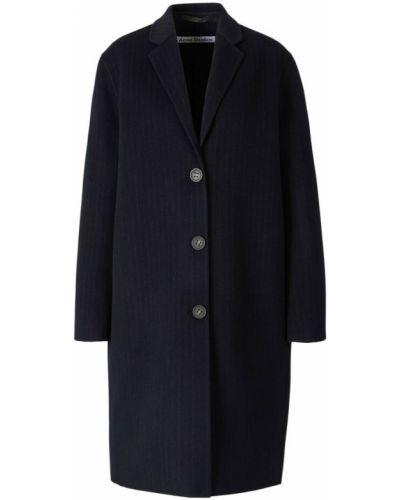 Płaszcz w paski - niebieski Acne Studios