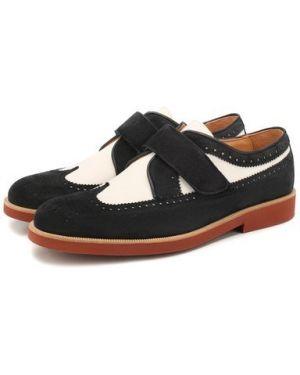 Туфли замшевый текстильные Rondinella