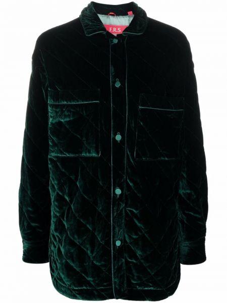 Стеганая куртка - зеленая F.r.s. For Restless Sleepers