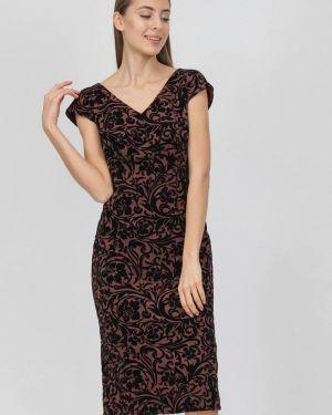 Платье футляр бордовый Raimaxx