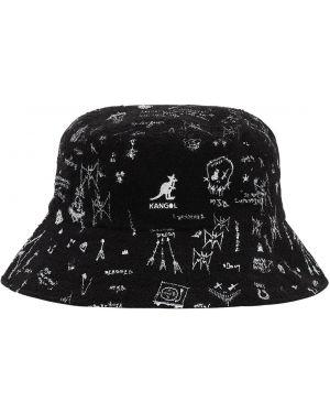 Czarny kapelusz z printem Mjb Marc Jacques Burton