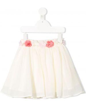 Белая юбка мини Lili Gaufrette