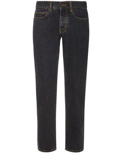 Szare mom jeans Saint Laurent