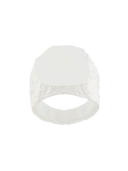 Кольцо из серебра белый Nove25