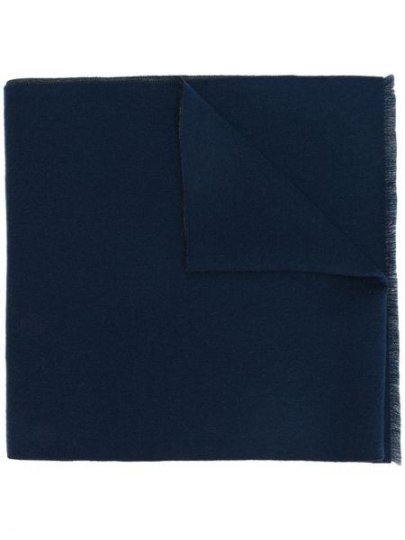 Szalik wełniany - niebieski Gucci