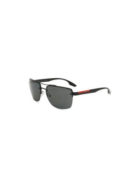 Комбинированные муслиновые пляжные спортивные солнцезащитные очки Prada Linea Rossa