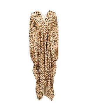 Вечернее платье леопардовое Roberto Cavalli