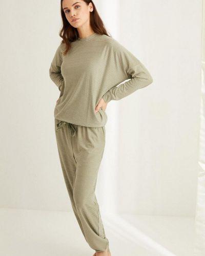 Пижамная зеленая пижама Women'secret