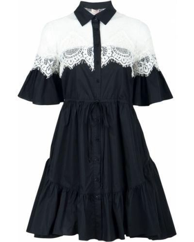 Платье с поясом на пуговицах платье-халат Twin-set