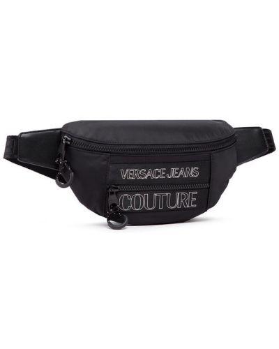 Czarny plecak Versace Jeans Couture