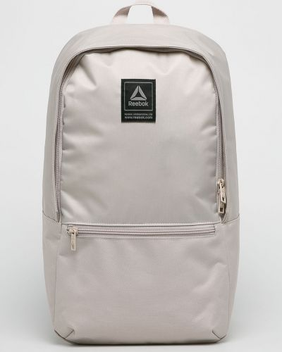 Рюкзак бежевый с узором Reebok