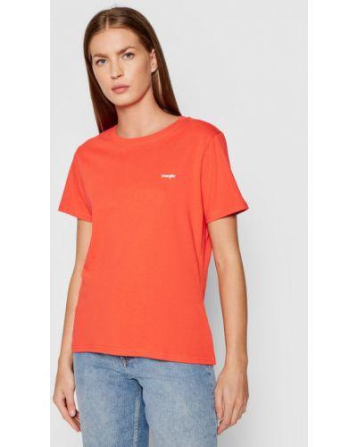 Czerwona t-shirt Wrangler