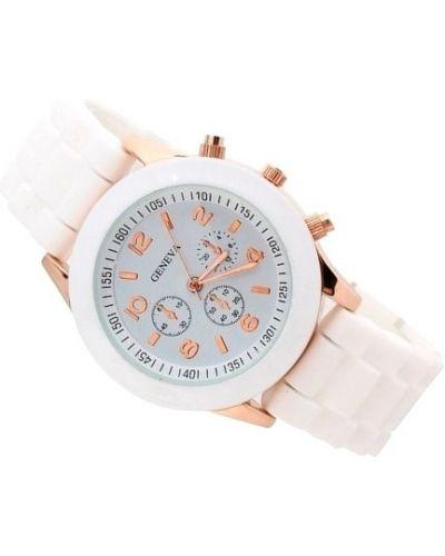 Biały złoty sport zegarek sportowy Geneva