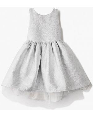 Серебряное платье на торжество Tforma