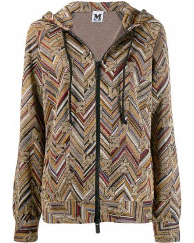 Куртка с капюшоном на молнии с карманами M Missoni
