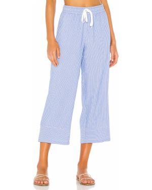 Spodnie na gumce z kieszeniami brezentowy Bobi