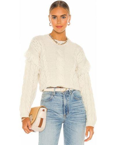 Кашемировый свитер - белый Cupcakes And Cashmere