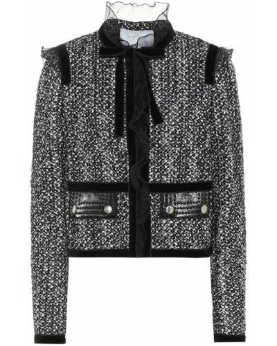 Черная куртка Giambattista Valli