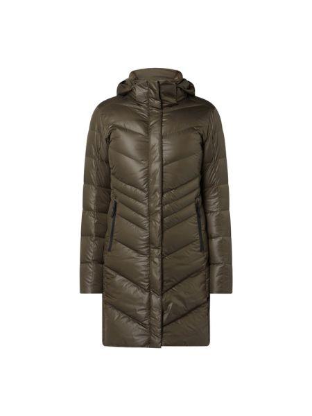 Zielony płaszcz z kapturem Bogner Fire + Ice