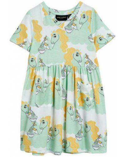 Zielona sukienka Mini Rodini