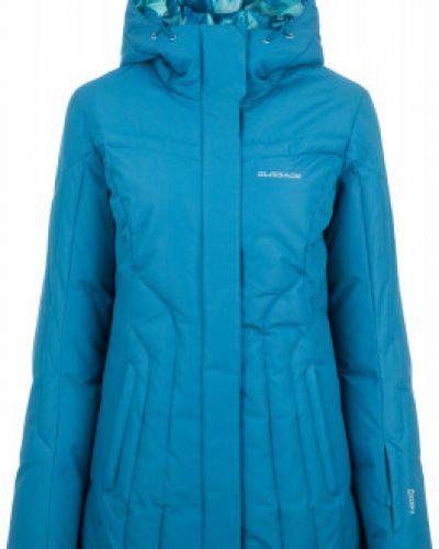 Утепленная куртка с капюшоном горнолыжная Glissade