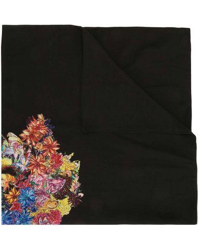 Czarny jedwab bandana plac Yohji Yamamoto