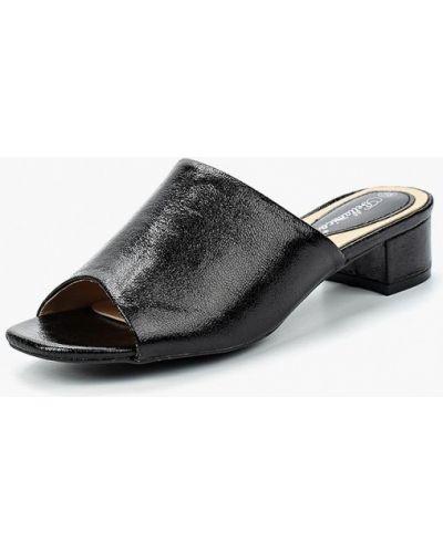 Черное сабо кожаные Bellamica