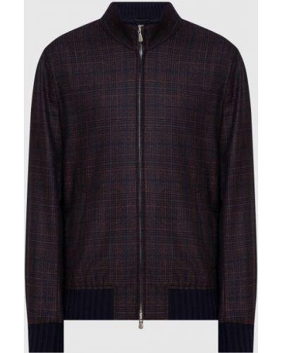 Кашемировая куртка - коричневая Enrico Mandelli