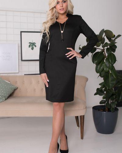 Деловое платье с V-образным вырезом платье-сарафан Olga Peltek