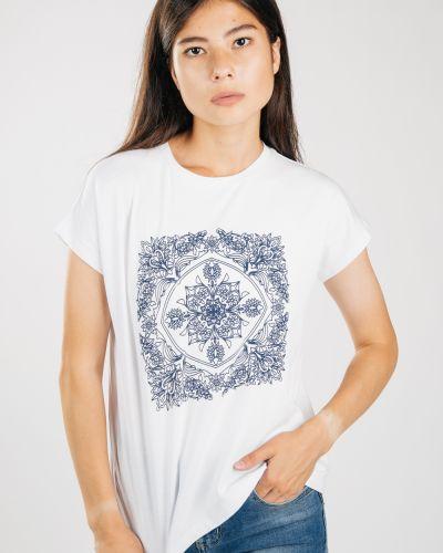 Хлопковая серая футболка Samo