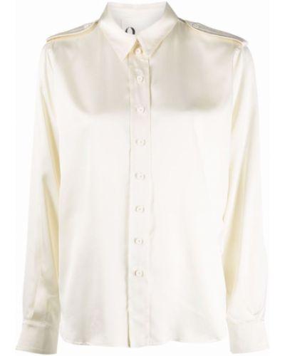 Белая рубашка на пуговицах 8pm
