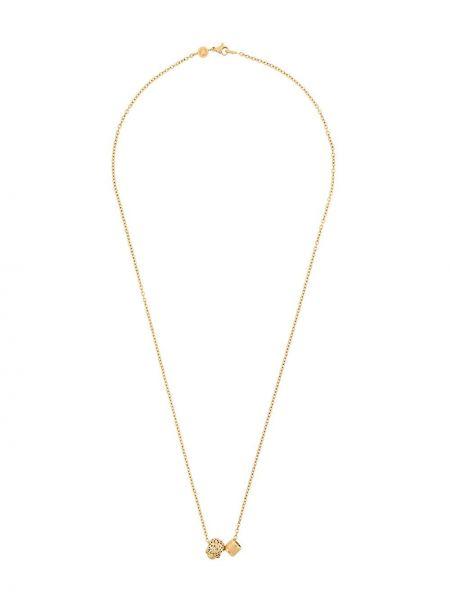 Ожерелье из золота серебряный Northskull