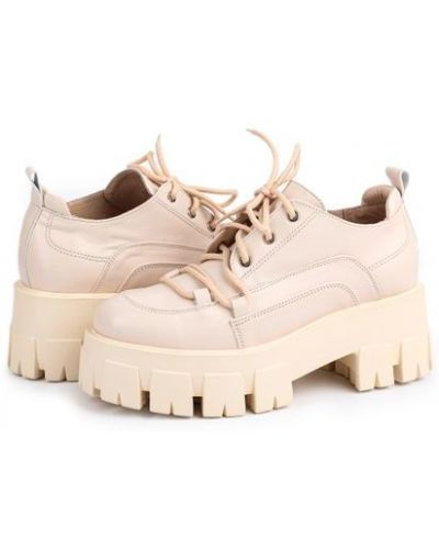 Туфли - бежевые Milli Gold