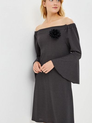 Серое итальянское платье Perfect J