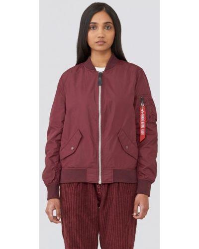 Куртка - бордовая Alpha Industries