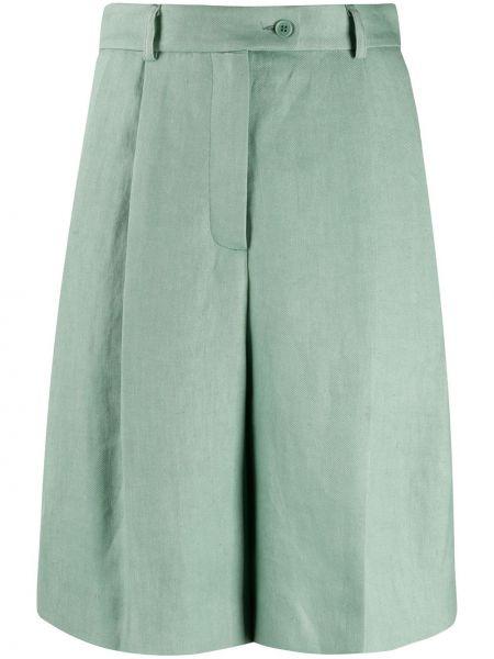 Зеленые шорты на пуговицах Mrz