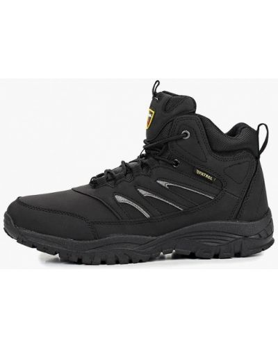 Кожаные ботинки треккинговые Patrol