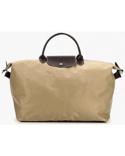 Бежевая дорожная сумка Antan