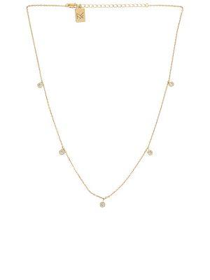 Ожерелье золотое металлическое позолоченное Miranda Frye