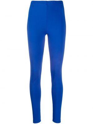 Синие леггинсы эластичные Styland