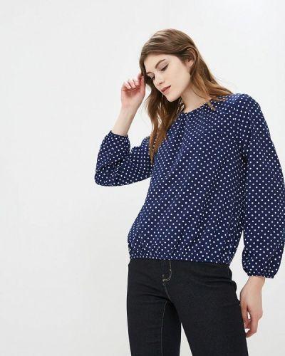 Блузка с длинным рукавом синяя Froggi