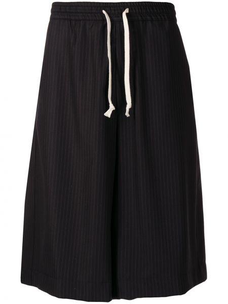 Черные спортивные шорты с карманами Société Anonyme