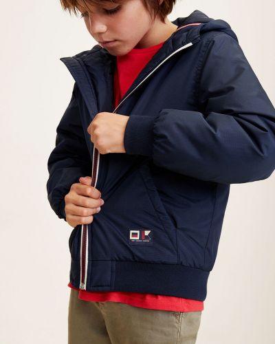 Куртка с капюшоном теплая Mango Kids