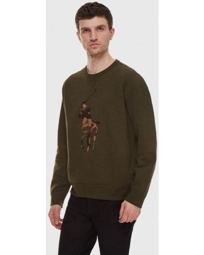 Зеленый свитшот Polo Ralph Lauren