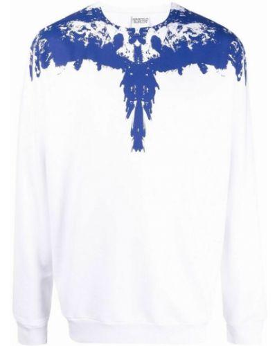 Biały sweter Marcelo Burlon