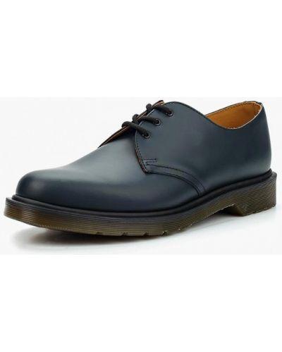 Синие туфли Dr Martens
