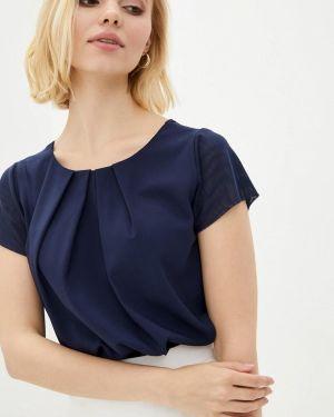 Синяя блузка Zubrytskaya