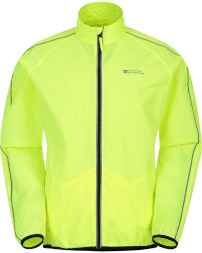 Żółta kurtka sportowa do biegania na co dzień Mountain Warehouse