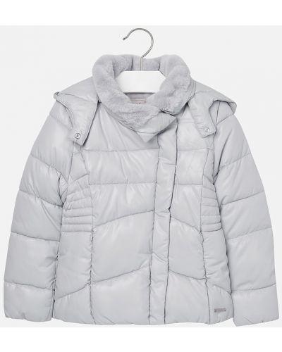 Куртка с капюшоном стеганая Mayoral