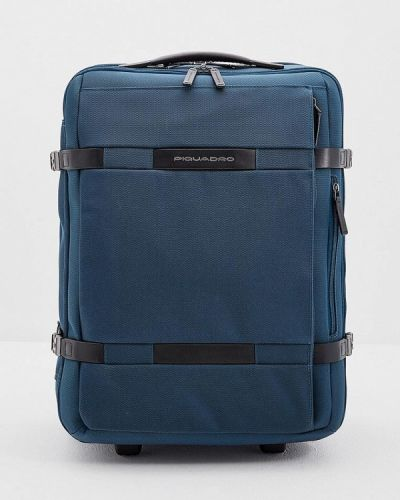 Бирюзовый чемодан Piquadro
